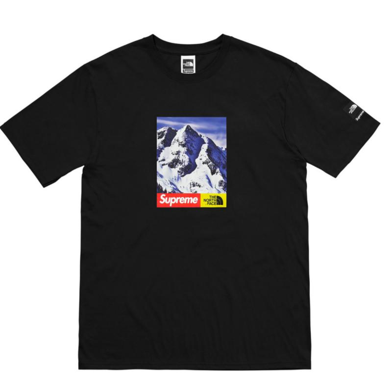 bcc08c48 Supreme x The North Face Mountain Tee • T-Shirts • Strictlypreme