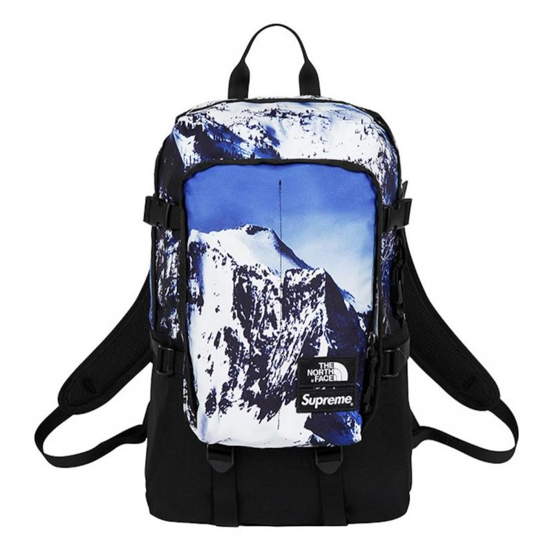 cabd8e66dbcf Supreme x The North Face Backpack Mountain Print • Bags • Strictlypreme