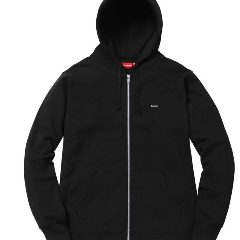 e772c46b782a Supreme Zip Up Hoodie Small Box Logo • Sweatshirts • Strictlypreme