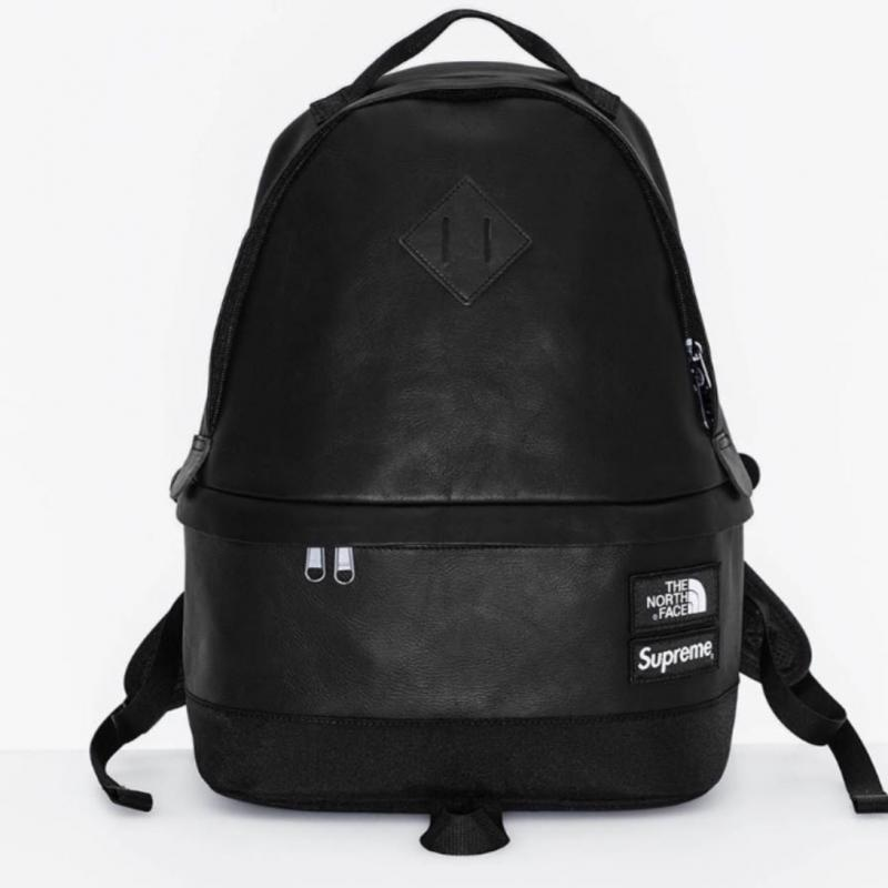 Fw17 Supreme X The North Face Leather Day Pack Bags Strictlypreme