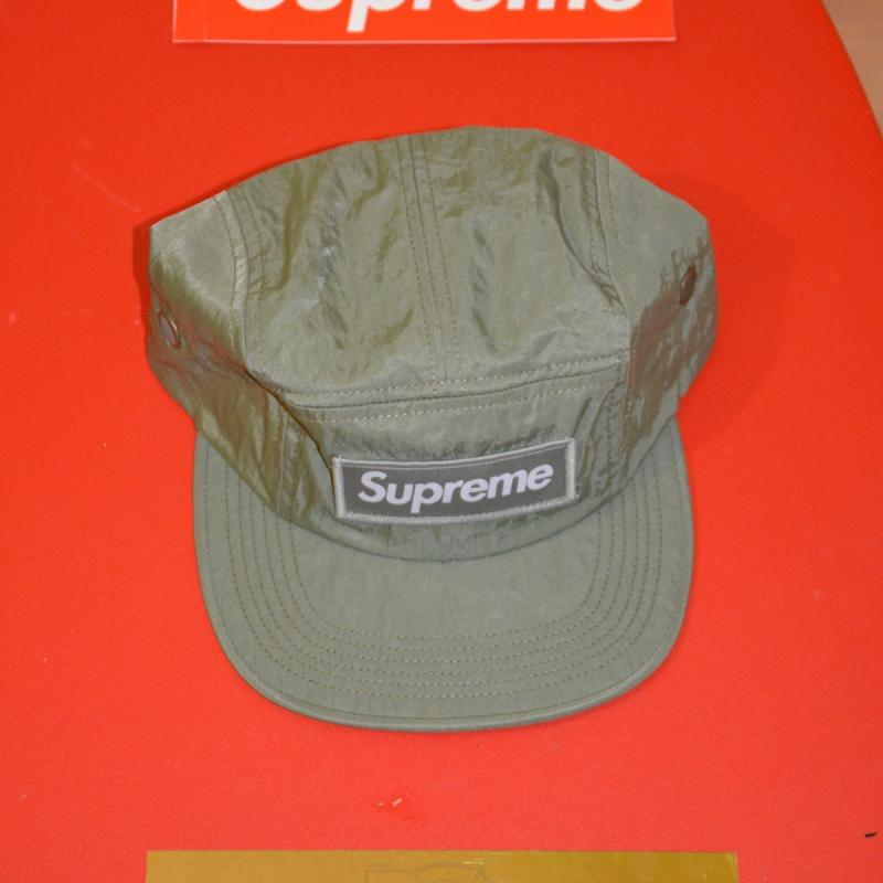 6e52173d PRICE REDUCED Washed Nylon Camp Cap BIG PATCH • Hats • Strictlypreme