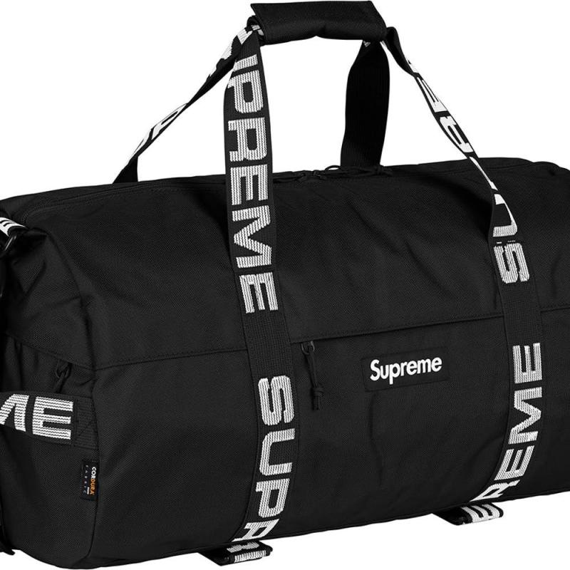 f3a56127f1 NEW Supreme Duffle Bag (SS18) Black IN HAND • Bags • Strictlypreme