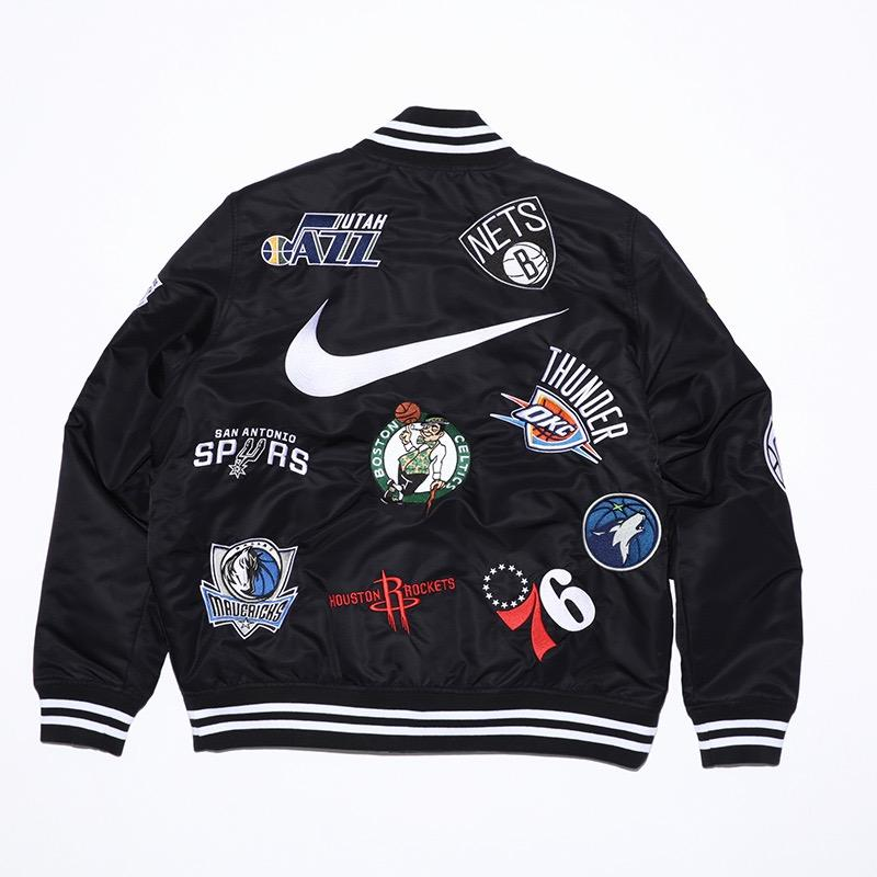 Supreme Nike NBA Teams Warm-Up Jacket Black • Jackets • Strictlypreme d17cd96cc