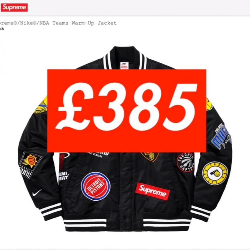 88440d3bc Supreme x Nike x NBA warmup jacket • Jackets • Strictlypreme