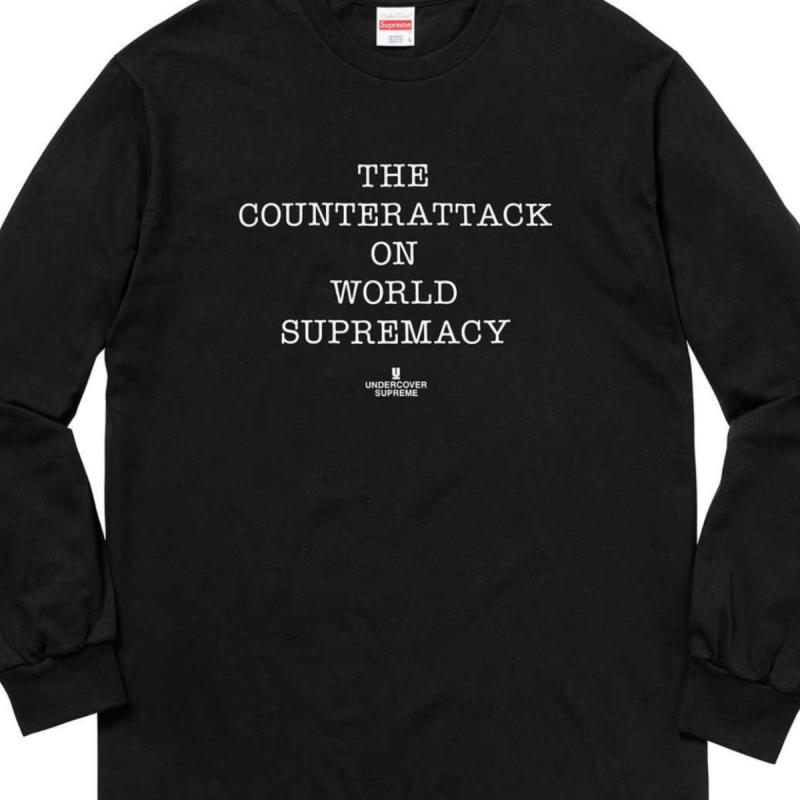 1f504bbb45d6 Supreme UNDERCOVER Public enemy Counterattack L/S (Long Sleeved) tee •  T-Shirts • Strictlypreme