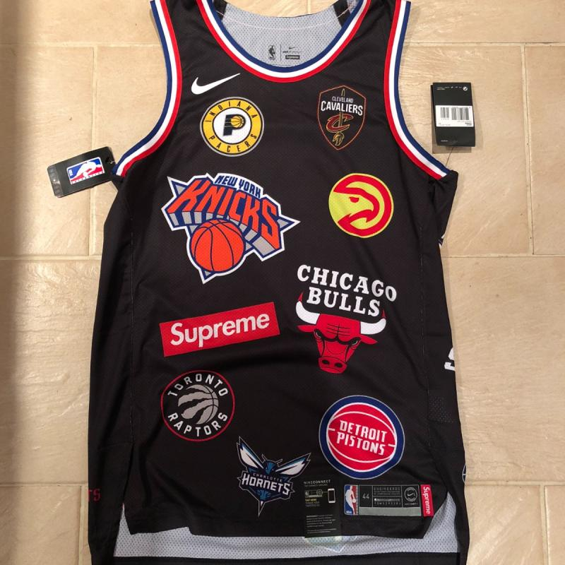 Supreme x Nike x NBA Teams Authentic Jersey SS18 • T-Shirts • Strictlypreme 84a1d6b59