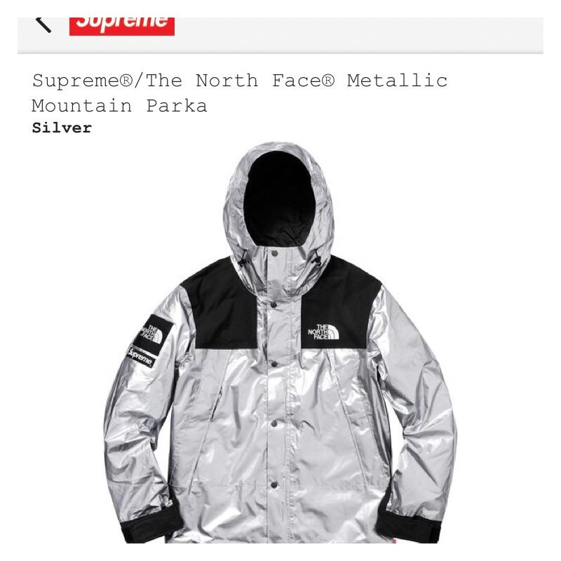 Supreme X The North Face Silver Mountain Parka Ss 18 Jackets Strictlypreme