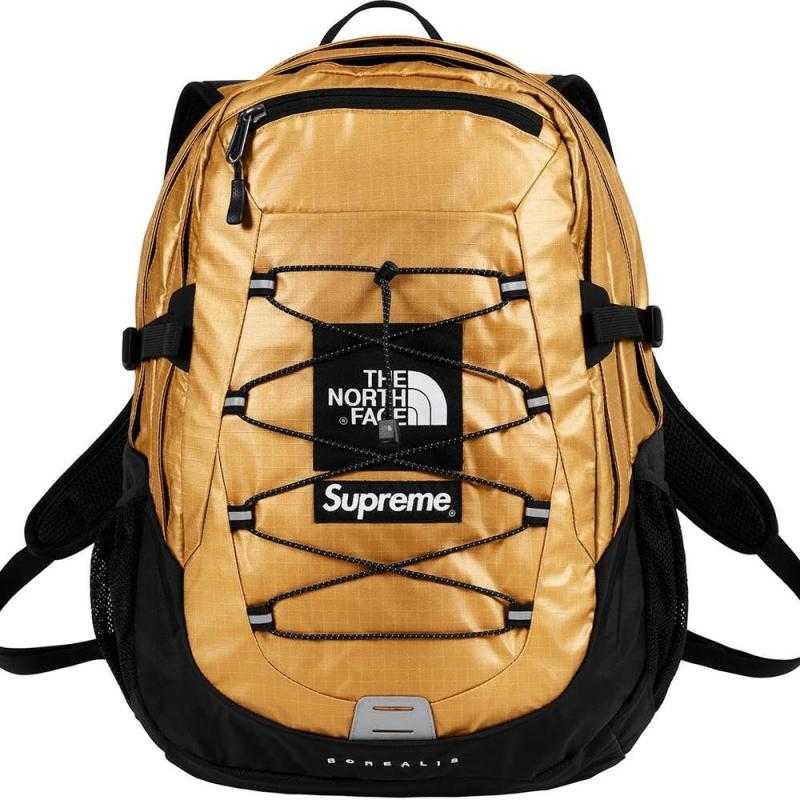 ef30b4db5 Supreme X The North Face Backpack - GOLD • Bags • Strictlypreme
