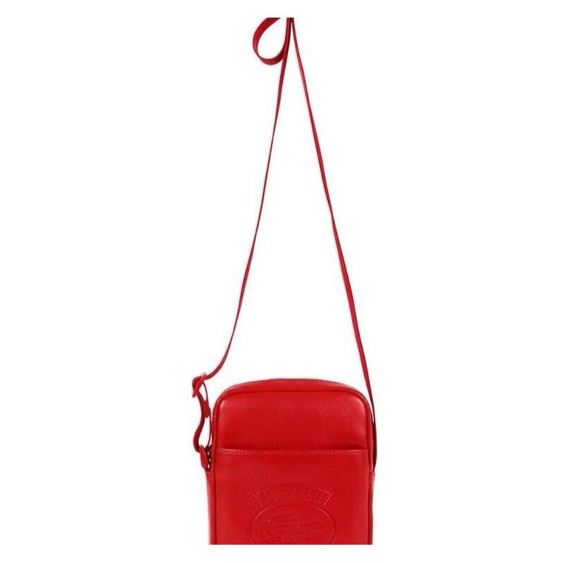 614450d7fc3 Supreme X Lacoste Shoulder Bag RED • Bags • Strictlypreme