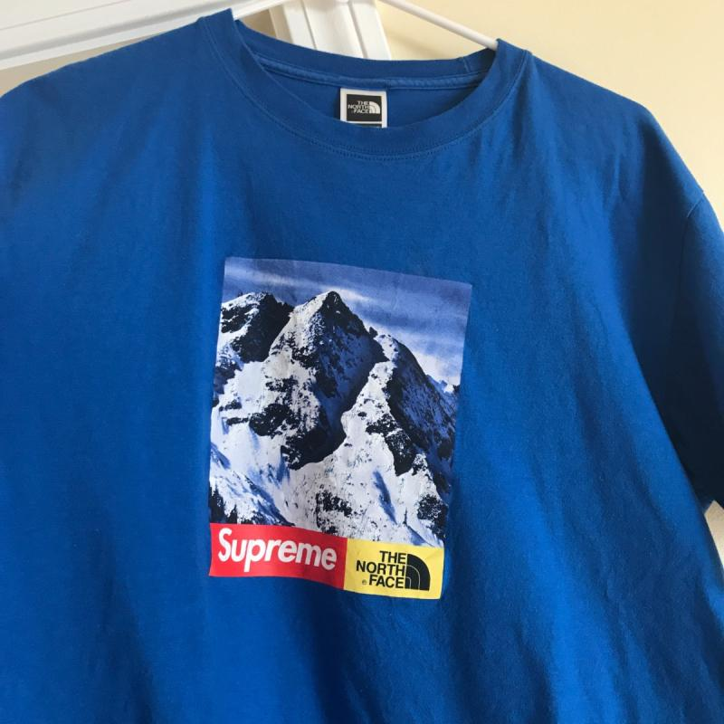 d5eea9f3 Supreme The North Face TNF Mountain Tee Royal Blue Large L • T-Shirts •  Strictlypreme