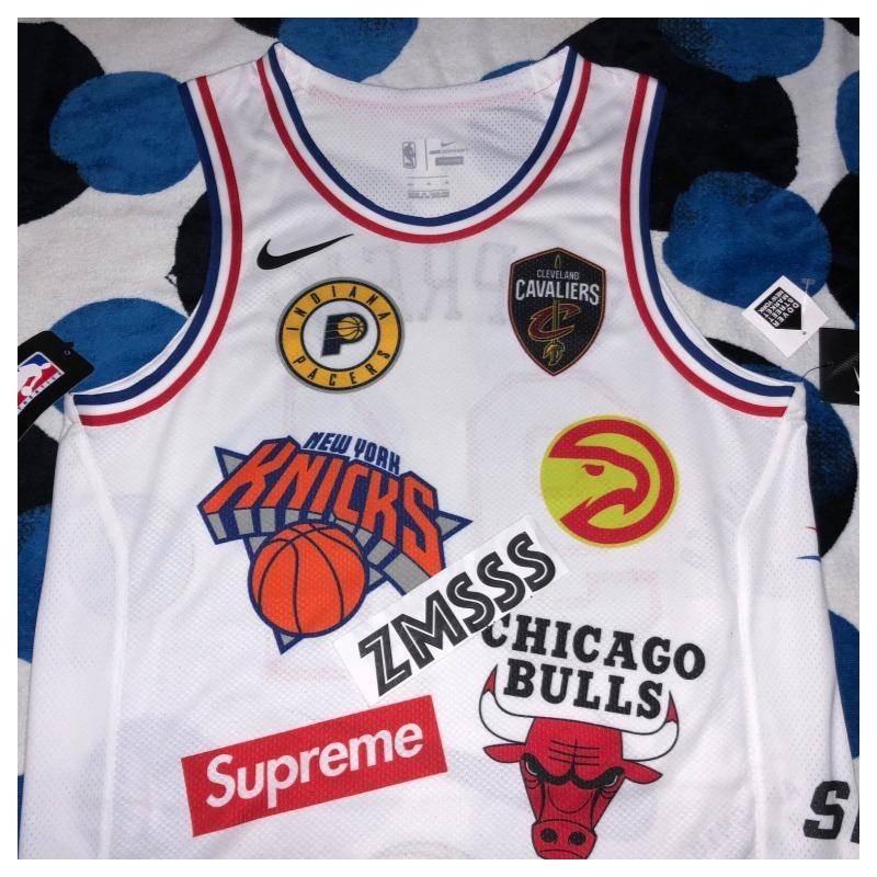 SUPREME x NIKE NBA TEAMS AUTHENTIC JERSEY WHITE • Shirts • Strictlypreme 573502944