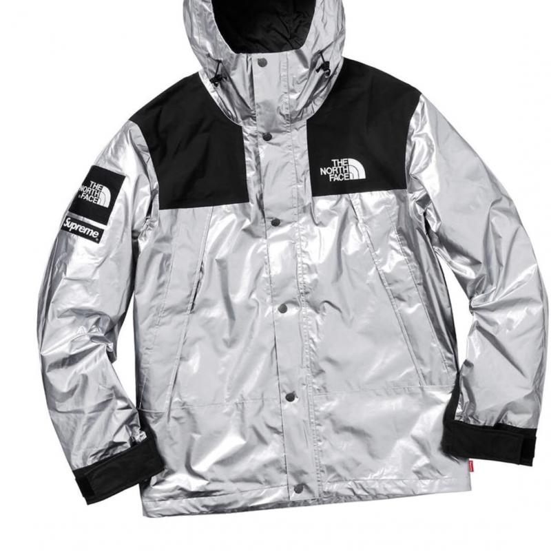 dba2a0746 Supreme the north face metallic mountain Parka Silver • Jackets ...