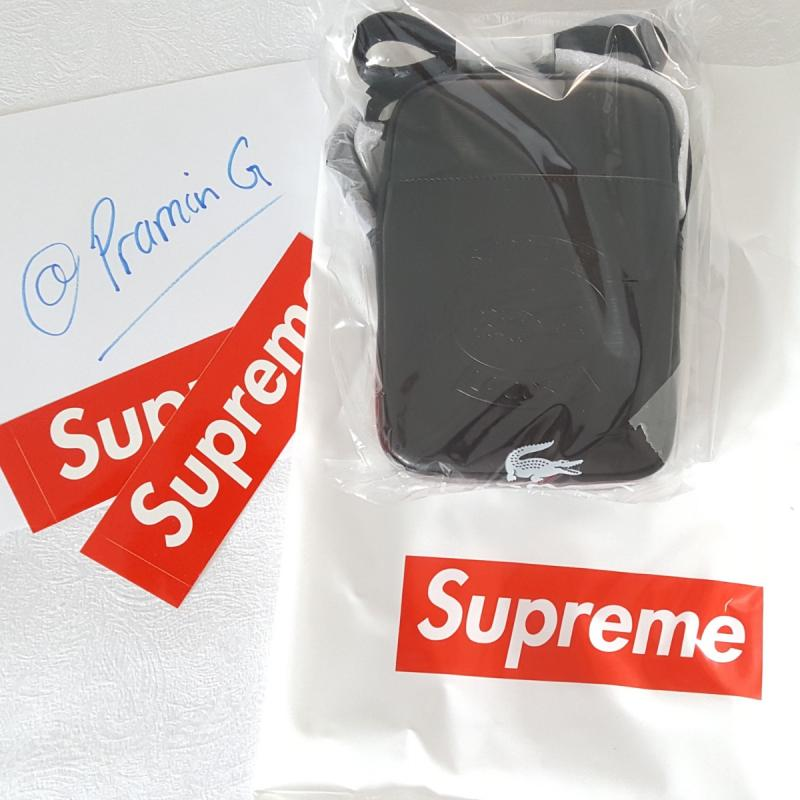 62ceb9919c6 Supreme x Lacoste Shoulder Bag • Bags • Strictlypreme