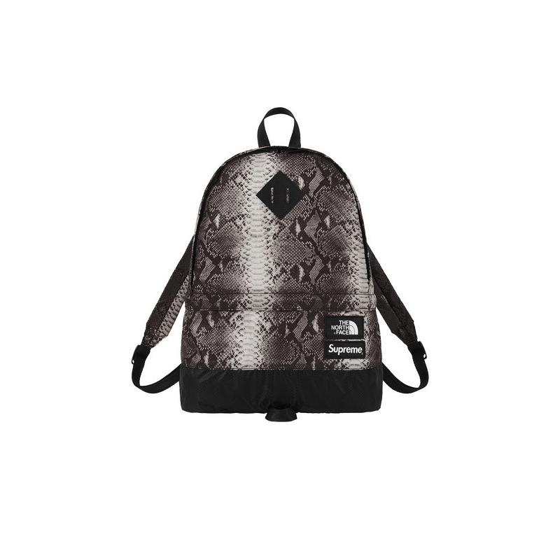 6d54e2183 Supreme / The North Face Snakeskin Lightweight Day Pack (Black ...