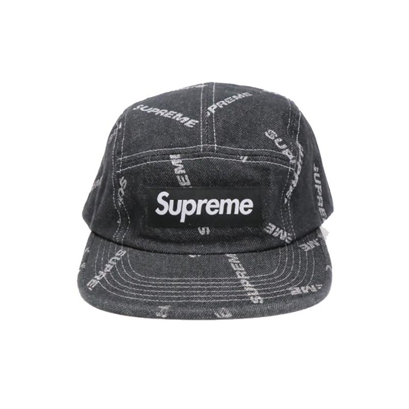 345897b10d1 17SS Denim Logo Camp Cap a05481 • Hats • Strictlypreme