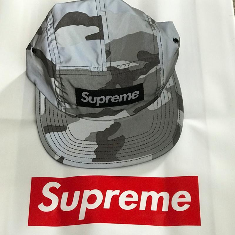 05511556535 Supreme Reflective Camo Camp Cap Snow Camo FW18 Week 1 In hand • Hats •  Strictlypreme