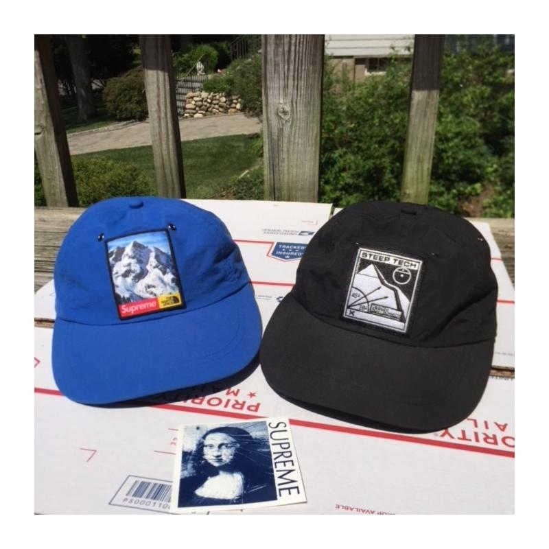 6be837e7 Supreme X The North Face Hat Bundle STEEP TECH AND MOUNTAIN HAT • Hats •  Strictlypreme