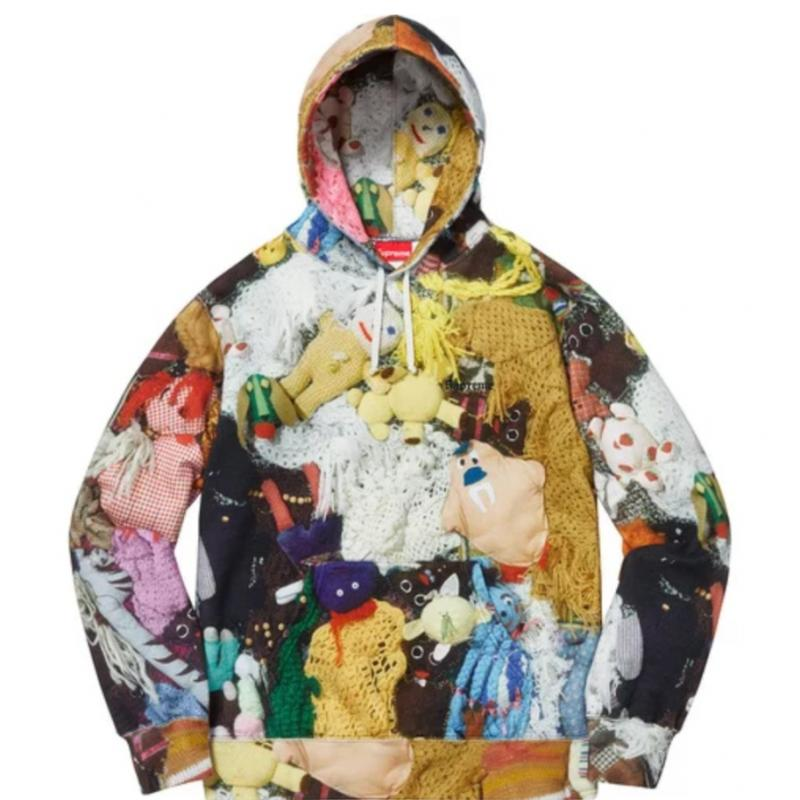 615bd1a4a7d6 Mike Kelley Supreme More Hours Than Can Ever Be Repaid Hooded Sweatshirt •  Sweatshirts • Strictlypreme