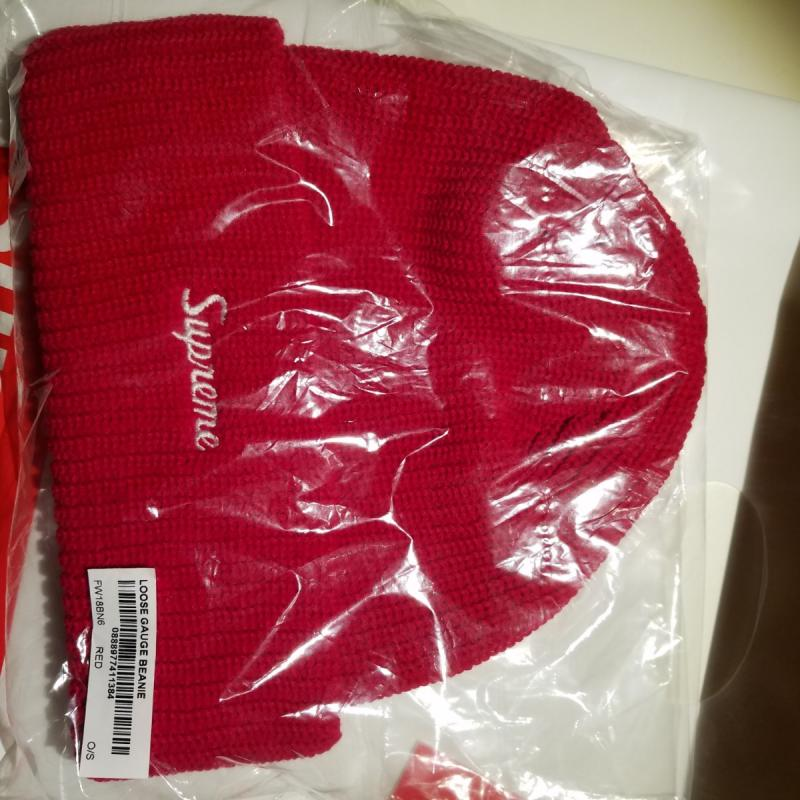 90841ccd2bc Supreme Loose Red Beanie • Hats • Strictlypreme
