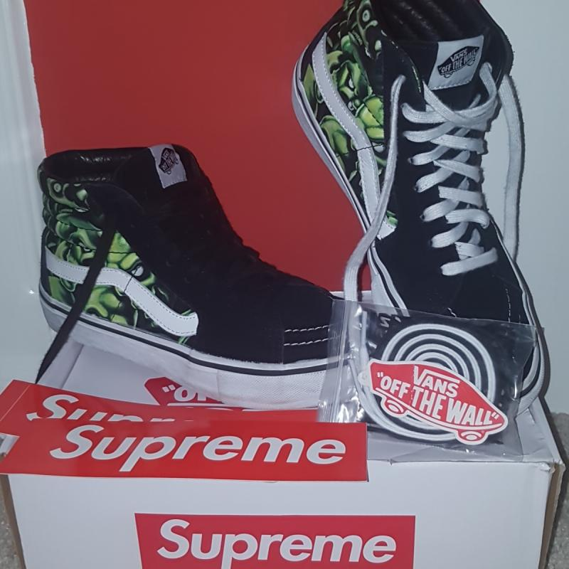 339516f5b065 Supreme Vans Skull Pile • Shoes • Strictlypreme