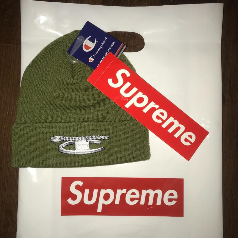 b2838ec8f19b5 Supreme champion metallic beanie olive • Hats • Strictlypreme