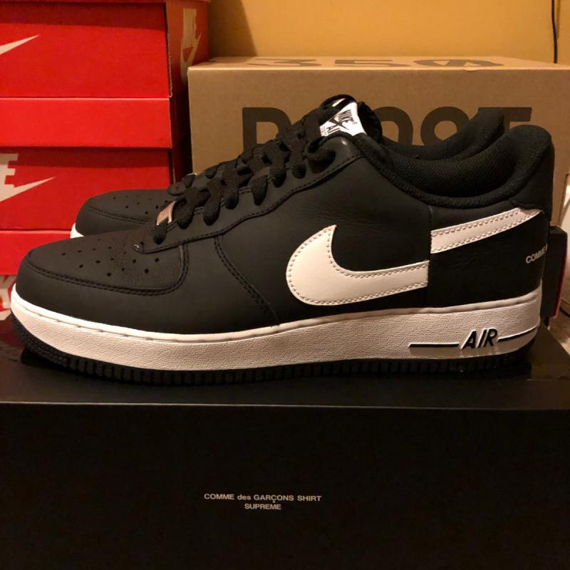 49fcbf650d Nike x CDG Air Force 1 UK 95 US 105 DS in hand • Shoes • Strictlypreme