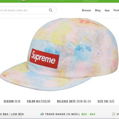 0e991225bda Supreme Cordura 6Panel Hat • Hats • Strictlypreme