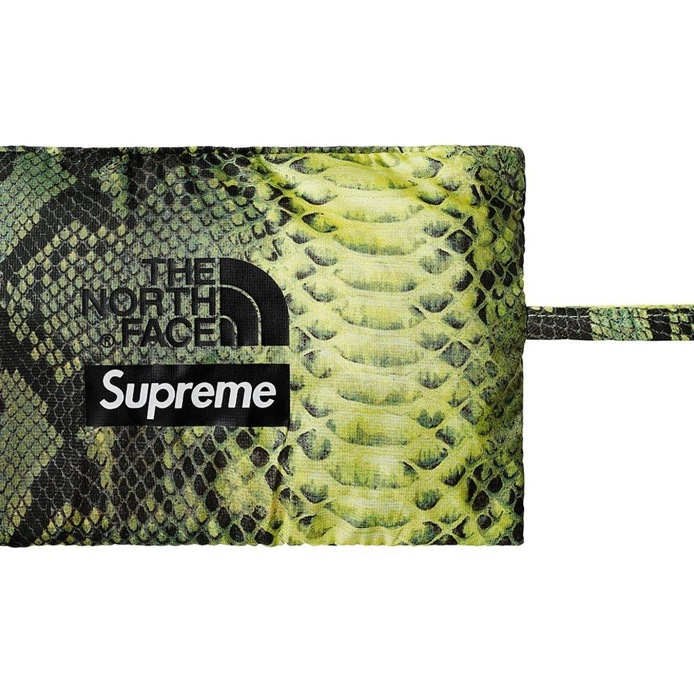 fd88c0a487d Supreme The North Face Snakeskin Packable Reversible Crusher Green L ...