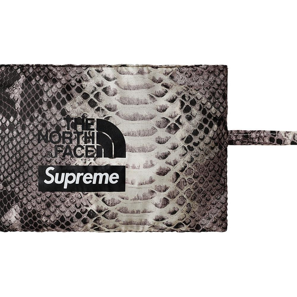 450c4c938a21e Supreme The North Face Snakeskin Packable Reversible Crusher Black LXL