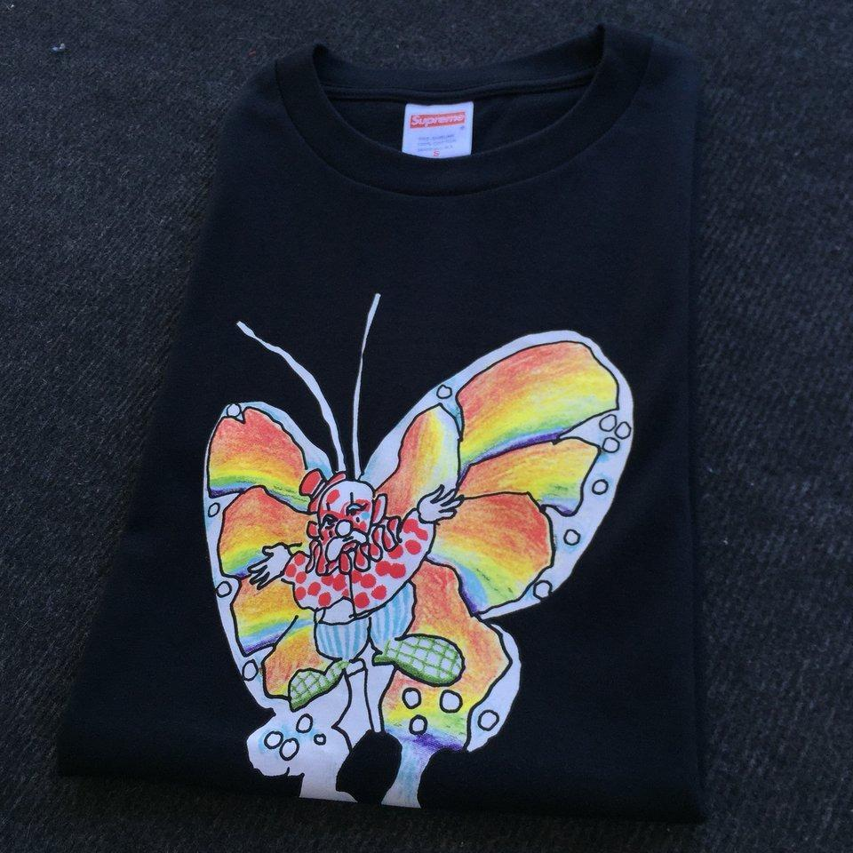a65746f5c Supreme Gonz Butterfly Tee Black • T-Shirts • Strictlypreme