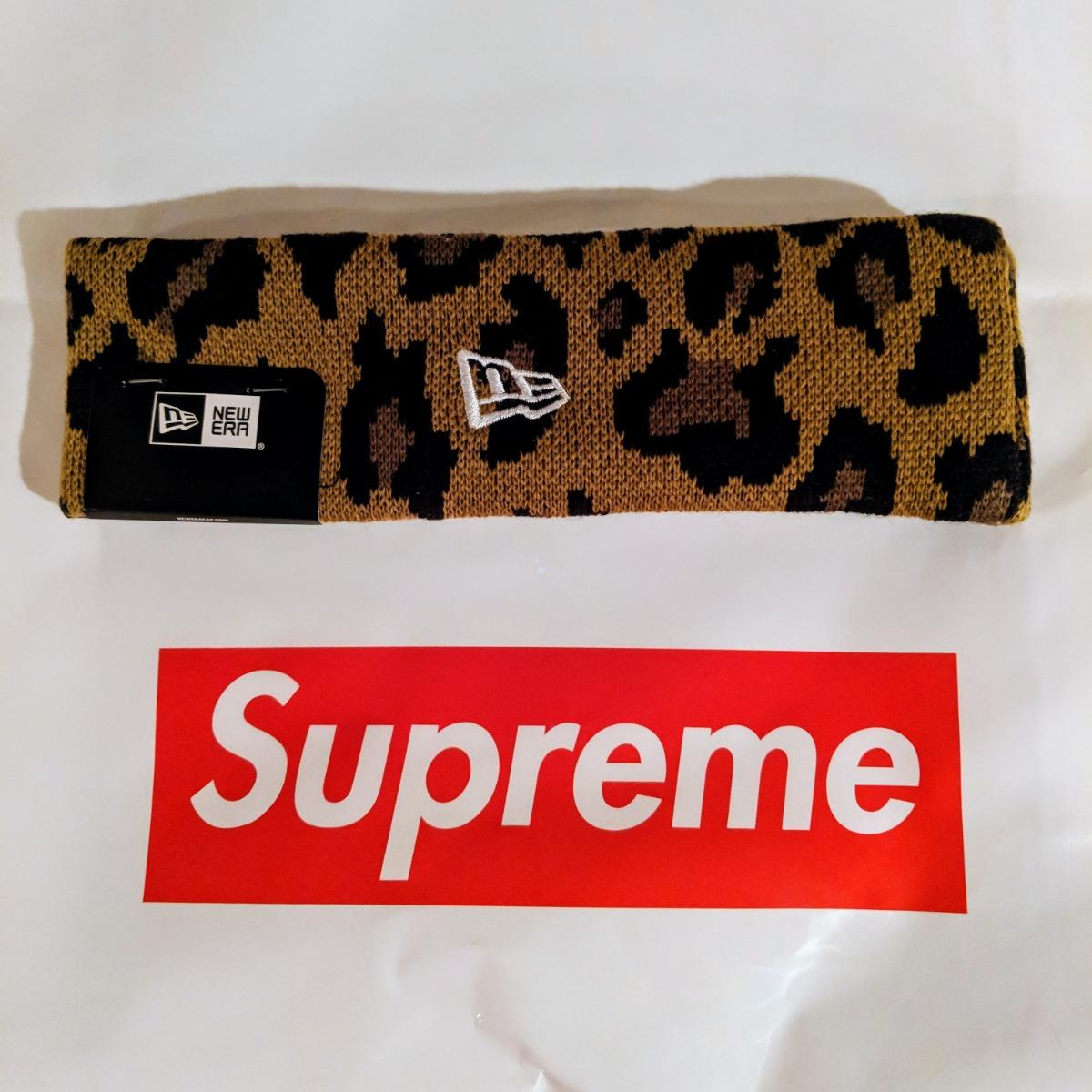 bb6849857028d Supreme x New Era Big Logo Headband • Hats • Strictlypreme
