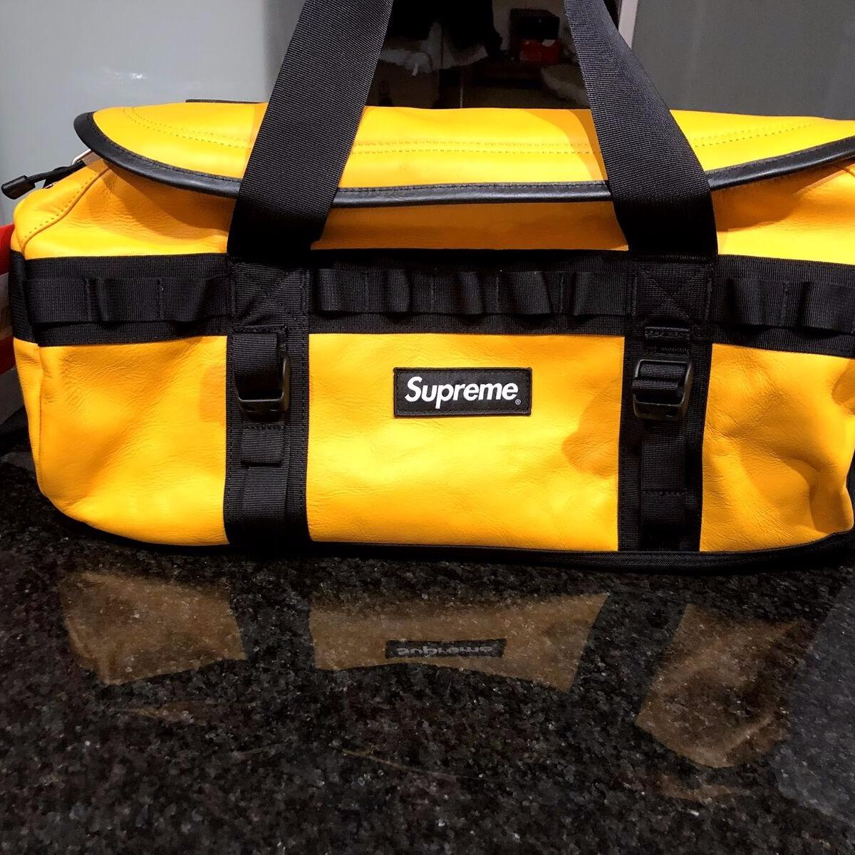 Supreme North Face Leather Base Camp