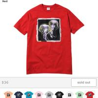 Jellyfish T-Shirt (Red)  | Image 1