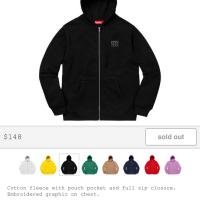 World Famous Zip Up Hooded Sweatshirt  | Image 1
