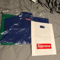 BRAND NEW WITH TAGS SUPREME CORNER ARC JACKET BLUE/GREEN | Image 1