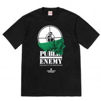 SUPREME SS18 PUBLIC ENEMY TERRORDOME TEE XL BLACK New with tags Order Confirmed | Image 1