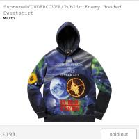 Supreme x Undercover x Public enemy Multi Hooded Sweatshirt | Image 1