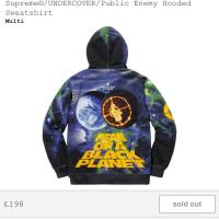 Supreme x Undercover x Public enemy Multi Hooded Sweatshirt | Image 2