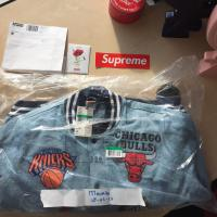 Supreme X Nike X Nba teams warm-up jacket Denim XL | Image 2