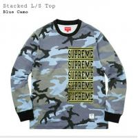 Stacked L/S Top / Blue Camo / Large / 100% Authentic! | Image 2
