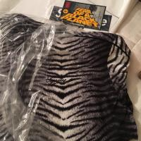 Supreme Tiger Stripe Zebra Track Jacket Black White  | Image 3