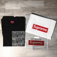 SUPREME Stacked L/S Top black  | Image 1
