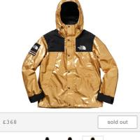Supreme X the north face jacket XL gold | Image 1