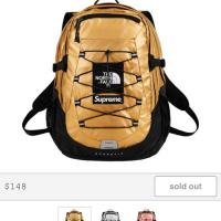 Gold Supreme®/The North Face® Metallic Borealis Backpack | Image 1