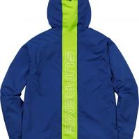 Supreme Taped Seam Jacket Large Deadstock Royal Blue | Image 2