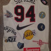 Supreme®/Nike®/NBA Teams Authentic Jersey | Image 1