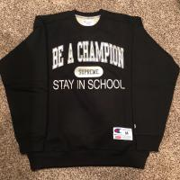 Supreme x champion (stay in school) | Image 1
