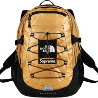 Supreme X The North Face Backpack  GOLD | Image 1
