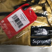 Supreme x The North Face Lumbar Pack Metallic GOLD Waist Bag Roo | Image 2