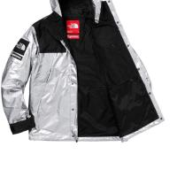 Supreme the north face metallic mountain Parka Silver | Image 2
